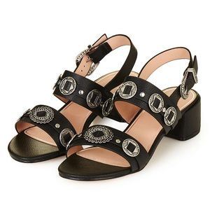 TOPSHOP Dandy western conch sandals